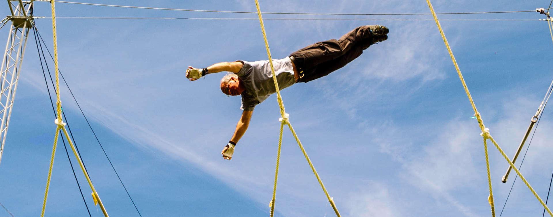 Ecole de trapèze volant